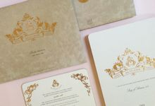Andy & Sally by Gracia The Invitation