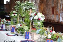 The Engagement of Stella & Albert by Voilawish Party Designer