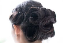 Updo by SALON by Houzcall