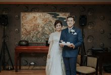 The Wedding of Salvian & Feby by MERCANTILE PENTHOUSE WEDDING