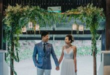 A Prewedding Shoot at Tamarind Hill by Frieda Brides