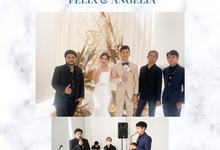 The Wedding Of Felix & Angelia by Samudra Music Entertainment
