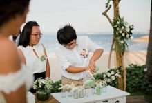The Wedding of Sara & Rosario by Amazing Bali Events