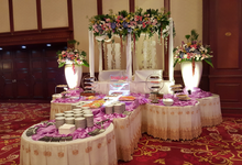 Table decoration by Sandjaja Catering