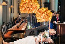 Wedding at Empress & Fullterton Bay Hotel by GrizzyPix Photography