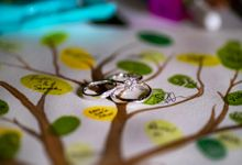 Wedding at Empress & Fullerton Bay Hotel by GrizzyPix Photography