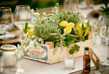 Country Chic wedding in Umbria by C&G Wedding and Event Designer