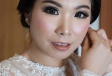 Makeup wedding ms yenny by Sandra Bridal and Makeup Academy