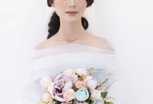 Wedding look ms serly by Sandra Bridal and Makeup Academy