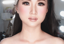 Wedding barbie look by Sandra Bridal and Makeup Academy