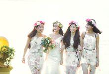 TROPICAL CHIC WEDDING AT SENTOSA by Floral Magic