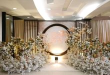 Edward & Ria Engagement Decoration by Valentine Wedding Decoration