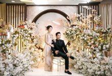 Edward & Ria Engagement Decoration by Valentine Wedding Decoration