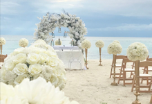 White Beauty by Destination Wedding Planner & Celebrant by Mira Michael