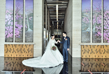 Paul and Michele by SANSAN Bridal