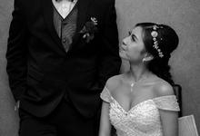 bride and groom  by SANSAN Bridal