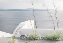 Idyllic Elopement in Santorini by Stella & Moscha Weddings