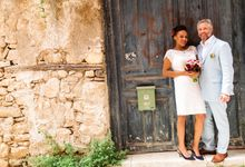 An Afro American wedding in Greece by MarrymeinGreece