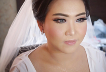 The Wedding of Dyah & Anton by SARA ROSE Makeup Artist