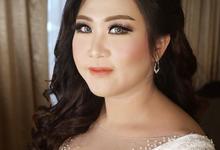 The Wedding of Dyah & Anton by SARA ROSE Makeup Artist