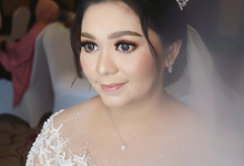 The Wedding of Agnes by SARA ROSE Makeup Artist