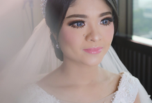 The Wedding of Teresa & Yafet by SARA ROSE Makeup Artist