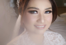 The Wedding of Villy & Mulyono by SARA ROSE Makeup Artist