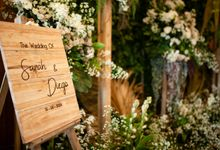 Intimate Wedding Sarah & Deo by Cateringky