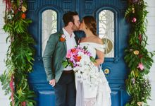 Sarah & Lachlan 2017 Wedding by Bali Event Hire