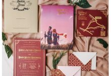 Invitation for Saskia & Brian by Soraksorai