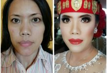 Before and after make up by Ali Yahya Photo Diary