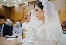 The Wedding Of Tasya & Indra by Armadani Organizer