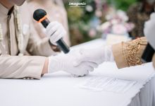The Intimate Wedding Of Rizka & Farid by Armadani Organizer