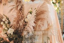 Edbert & Jessica by Sweetbella Florist & Decoration