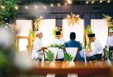 INTIMATE WEDDING NANDA & QINTHARA by Hallf at Patiunus