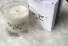 Lavender scented candle by Scent and Light