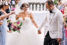 Luxury Wedding in Villa Pizzo - Lake Como by Elena Panzeri Makeup & Hair Artist