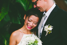 Shao Ping & Jorg Meyer Solemnization by KZMAKEUP STUDIO