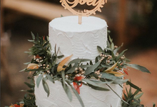 Alfred & Mega Wedding by KAIA Cakes & Co.