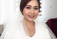 Wedding makeup trial Ms Chrisilya by Silvia Jonathan