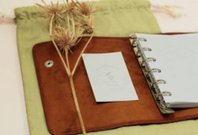 Mike & Fiona - Leather Book Binder by Rove Gift