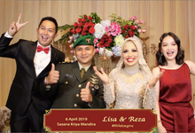 Reza & Lisa Wedding by Reivax Photo Booth