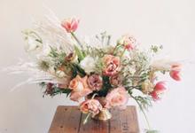 centerpiece by Rhea Florist Bali