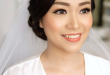 Wedding makeup trial for Ms Florencia by Silvia Jonathan