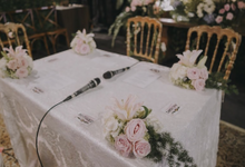 The Wedding of Dilla & Dean by SAS designs