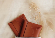 Yeremia & Mourene Card Holder by Yuo And Leather