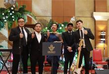 Jazz Wedding Entertainment at Auditorium PTIK Jakarta by Double V Entertainment