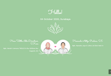 HANA & NANDA INVITATION by Our Love Day