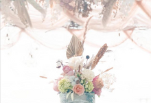 The Wedding Of Dennish & Lidyana by sugarbox patisserie