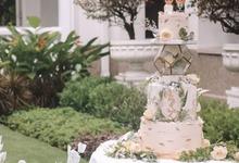 Auren & Lady Wedding by sugarbox patisserie
